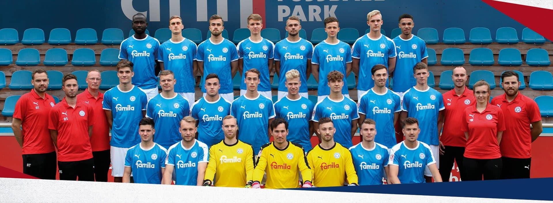 U23 Mannschaftsfoto