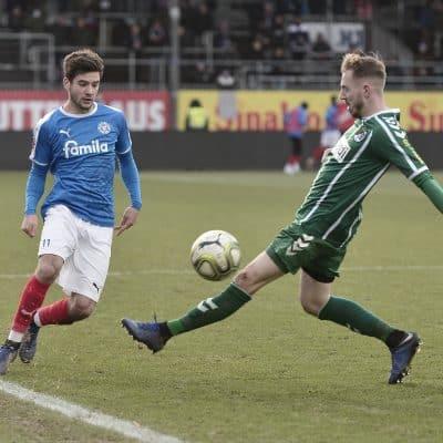 Regionalliga NordHolstein II – VfB LübeckTom Baller – Marvin Thiel