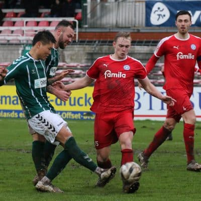 VFB Luebeck vs Holstein Kiel II, Fussball, Regionalliga Nord, 23 Spieltag, , 22.02.2019
