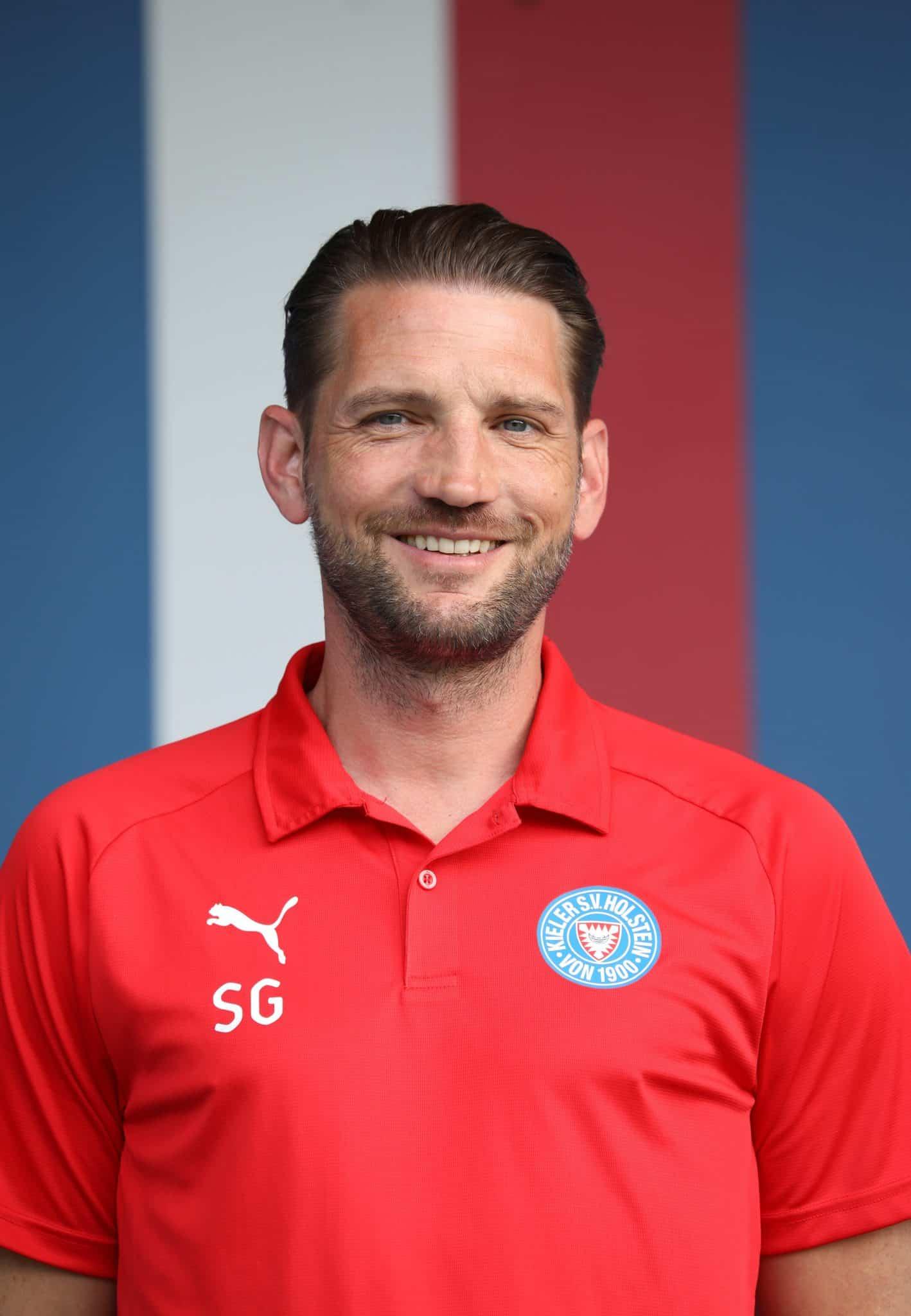 Trainer Sebastian Gunkel