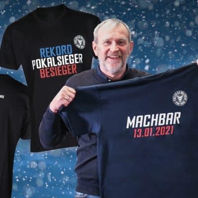 Uwe Stöver mit seinem Machbar-Shirt