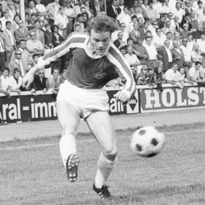 Uwe Krüger erzielte 1970 gegen den VfB Stuttgart den Kieler Führungstreffer