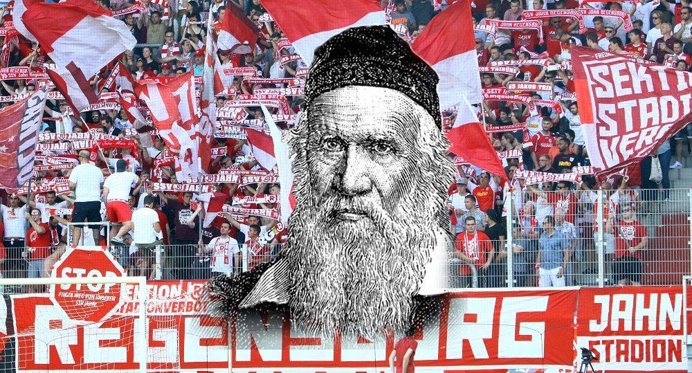 20170429 Fans des SSV Jahn Regensburg mit Turnvater Jahn