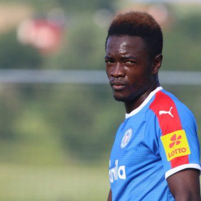 David Atanga freut sich auf das Duell mit seinem Ex-Klub