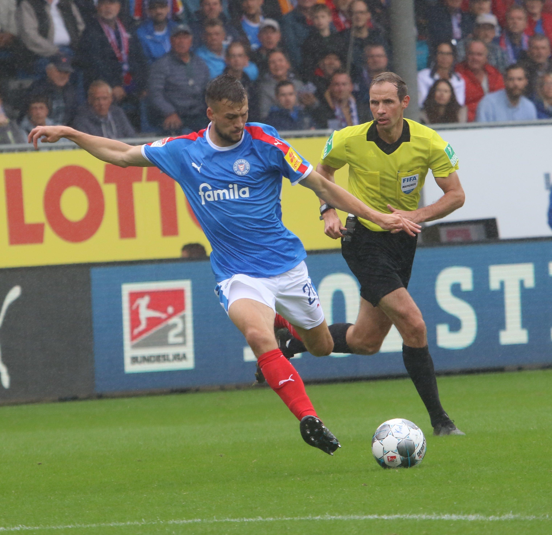 20190818 Kiels Jonas Meffert gegen Karlsruhe