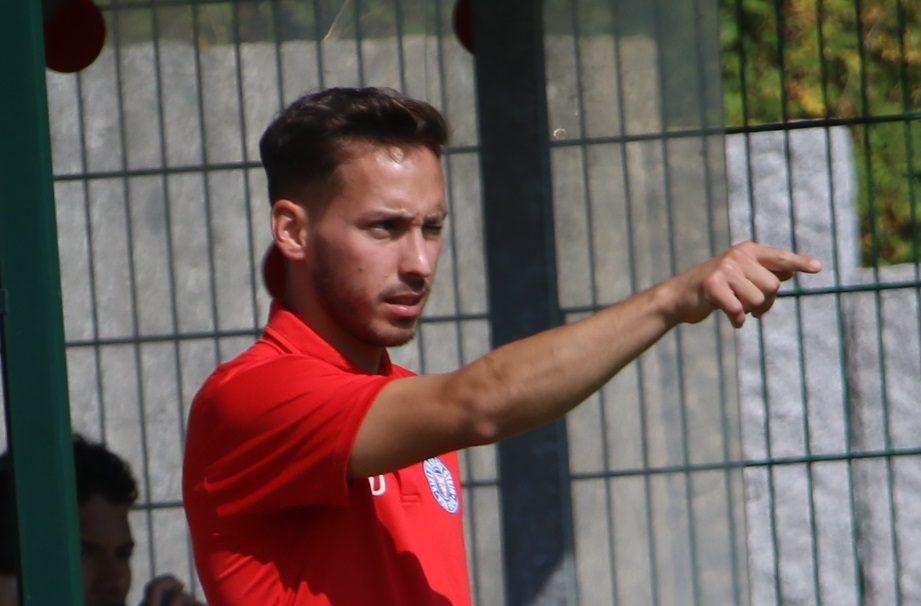20190831 U19 Trainer Dominik Glawogger gegen Werder 03