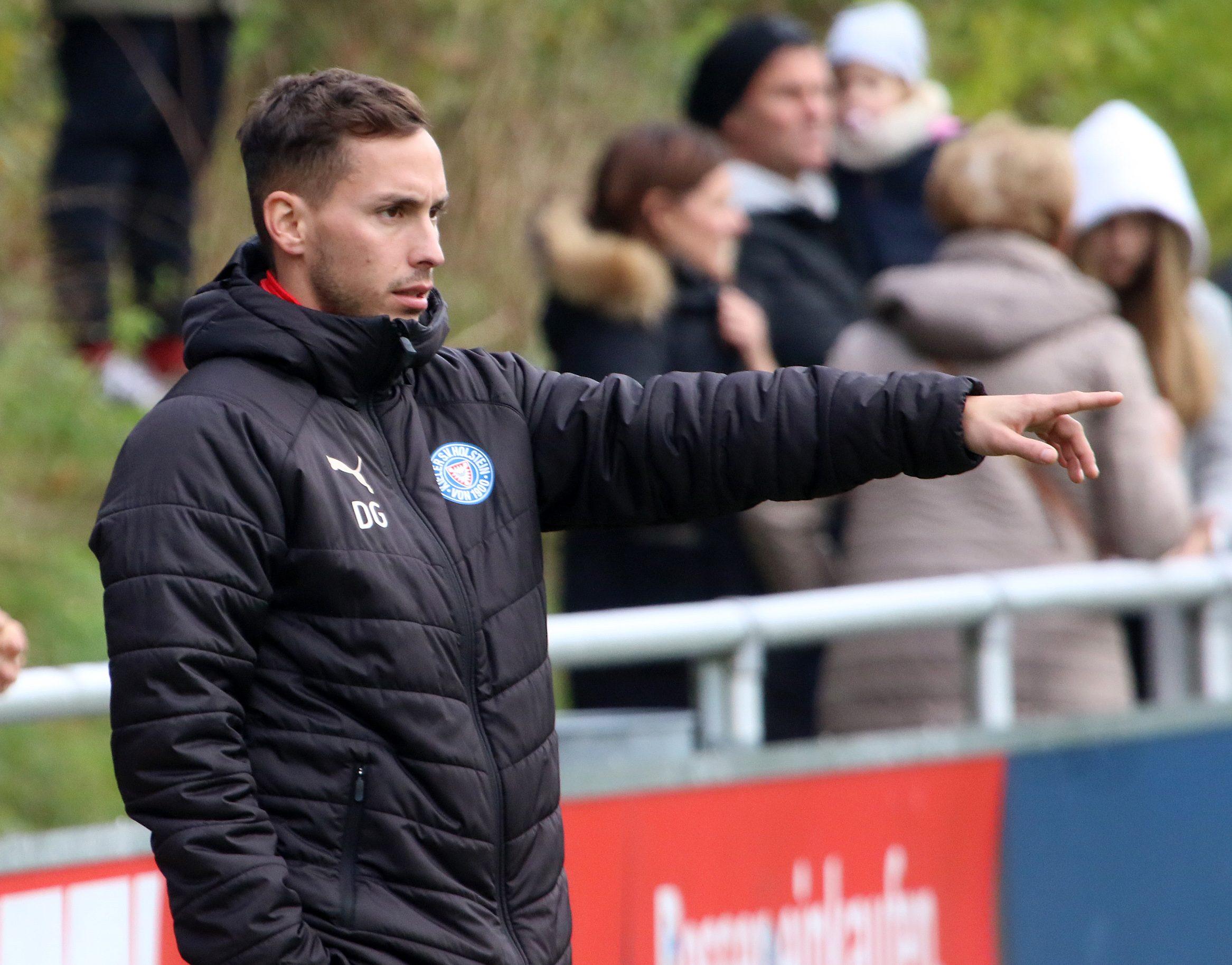 20191102 U19 Trainer Dominik Glawogger gegen St Pauli 04