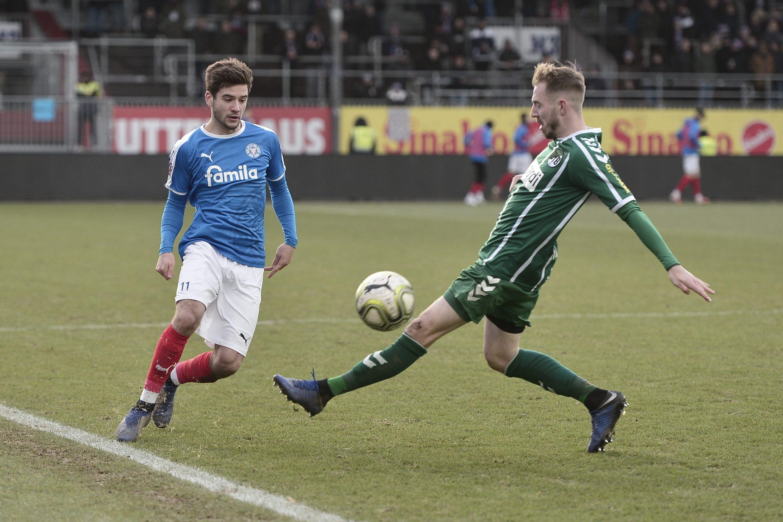 Regionalliga Nord Holstein II - VfB Lübeck Tom Baller - Marvin Thiel