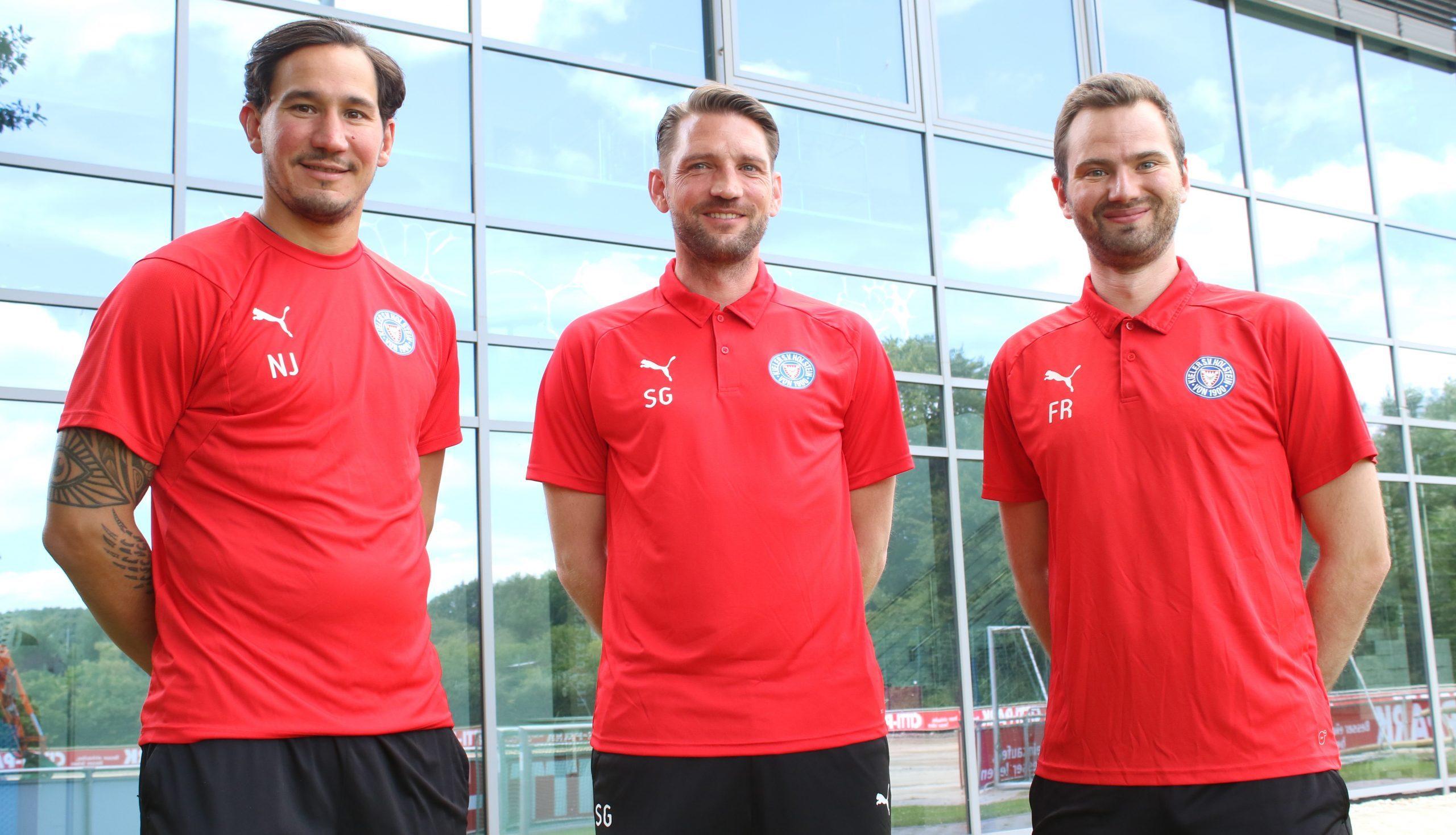 20200713 U23 TT Niklas Jakusch TR Sebastian Gunkel und TA Fabian Raue