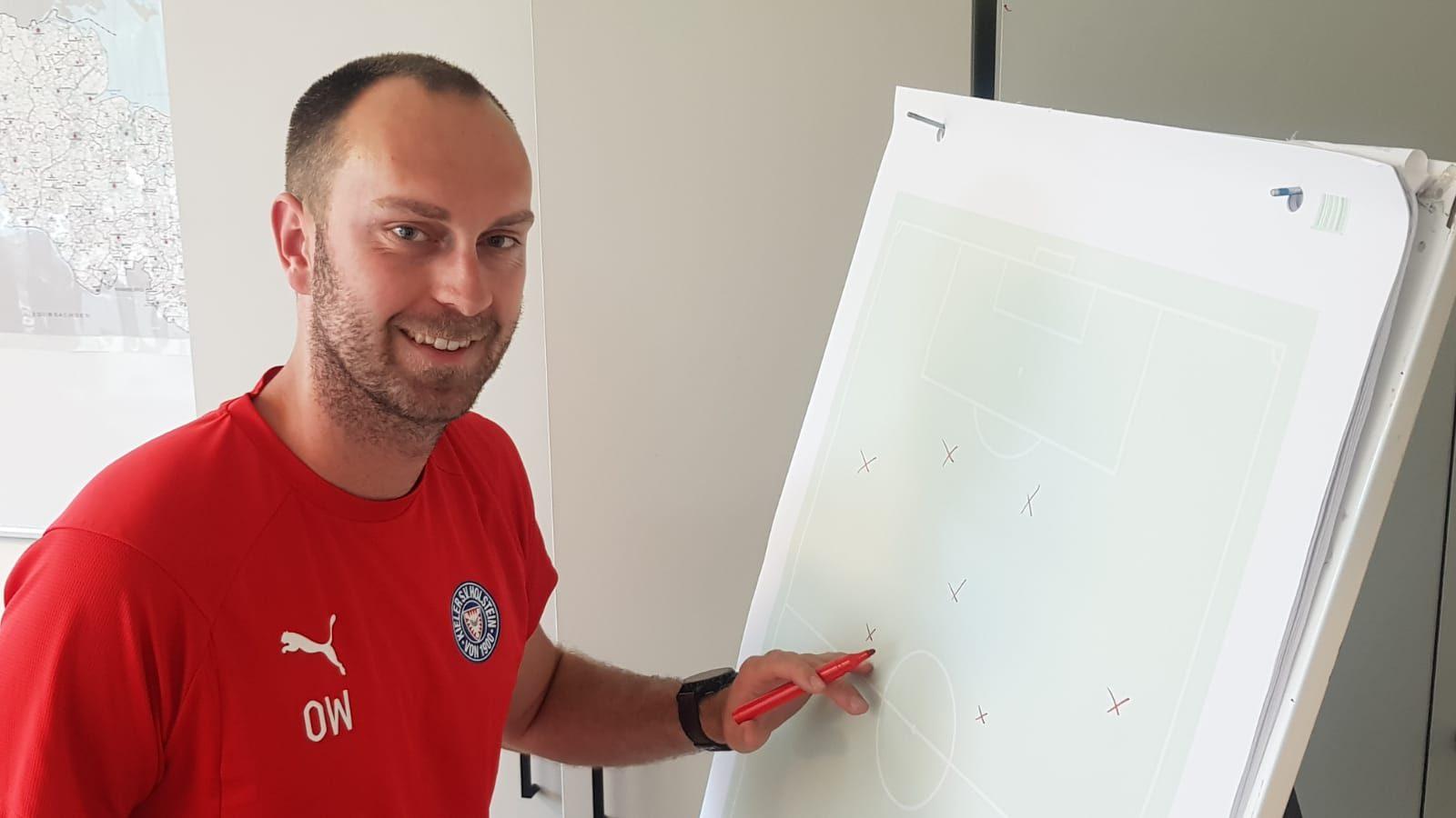 Ole Werner und seine U23 freuen sich auf den Heimauftakt in der neuen Regionalliga-Saison.