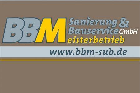 Sponsoren-Logo BBM Sanierung & Bauservice GmbH
