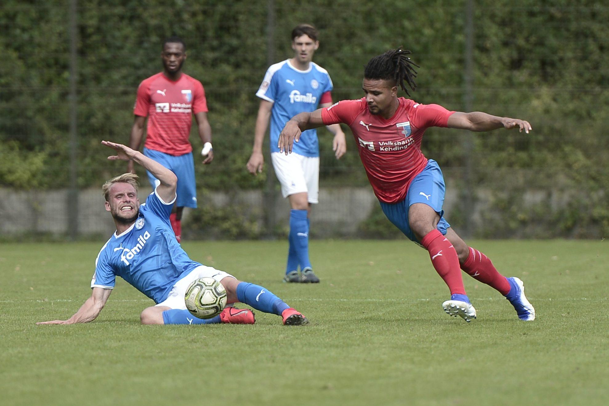Regionalliga Nord Holstein Kiel II - Drochtersen/Assel Julius Reiner Alt - Liam Giwah
