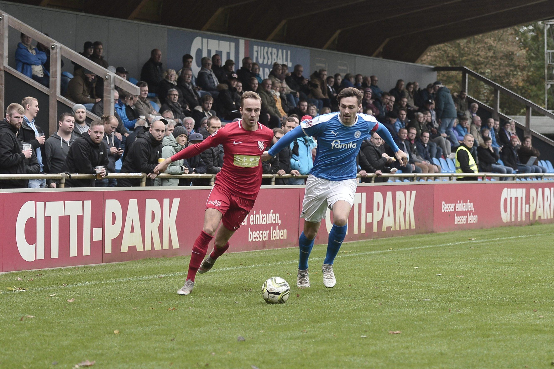 Regionalliga Nord Holstein Kiel II - TSV Havelse Tjorve Nils Mohr - Julius Langfeld