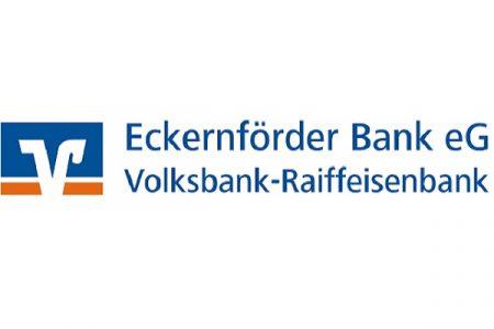 Sponsoren-Logo Eckernförder Bank eG Volksbank-Raiffeisenbank