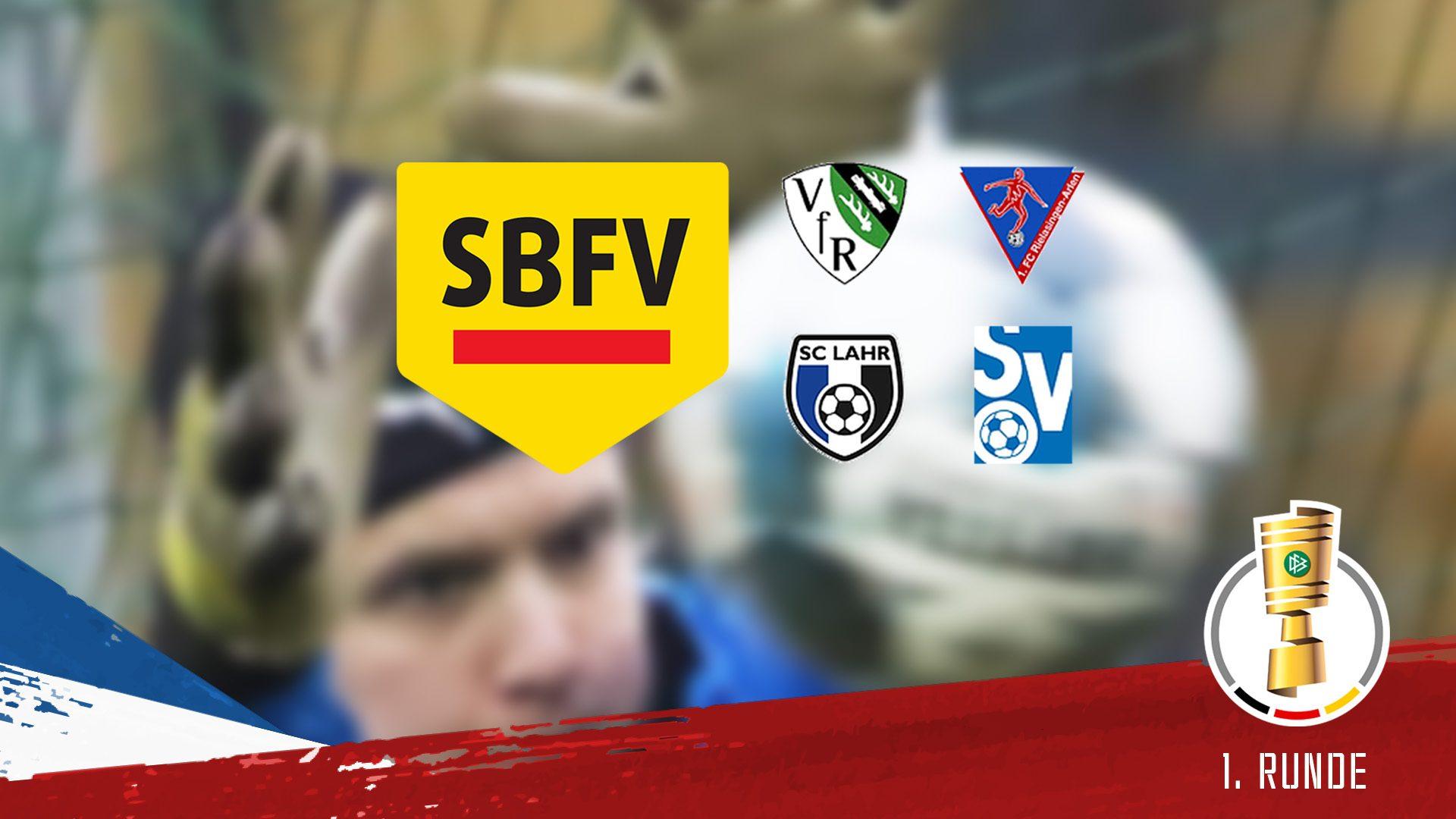Für die KSV findet die 1. Runde des DFB-Pokals 19/20 in Südbaden statt