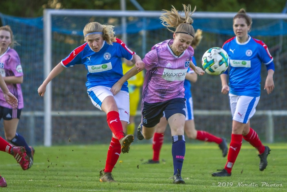 Regionalliga Nord Frauen - Saison 19/20: Holstein Women - Hamburger SV