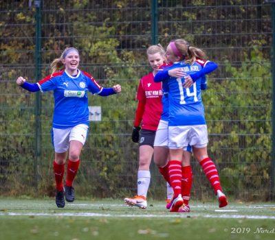Regionalliga Nord Frauen - Saison 2019/2020: Holstein Women - Hannover 96