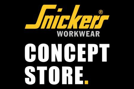 Sponsoren-Logo Snickers Concept Store