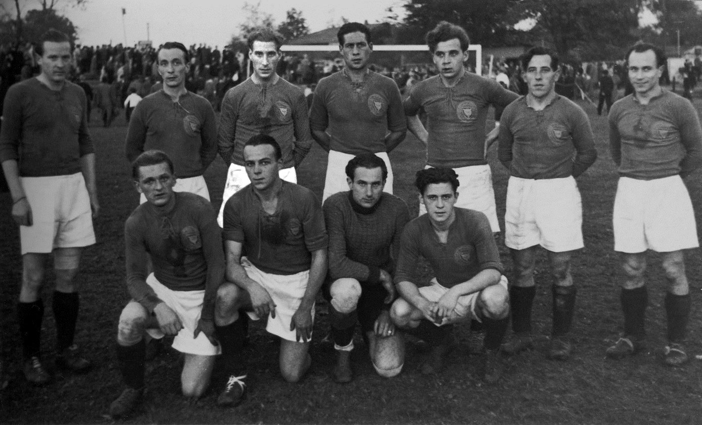 Teamfoto Oberliga Nord 1947 1948
