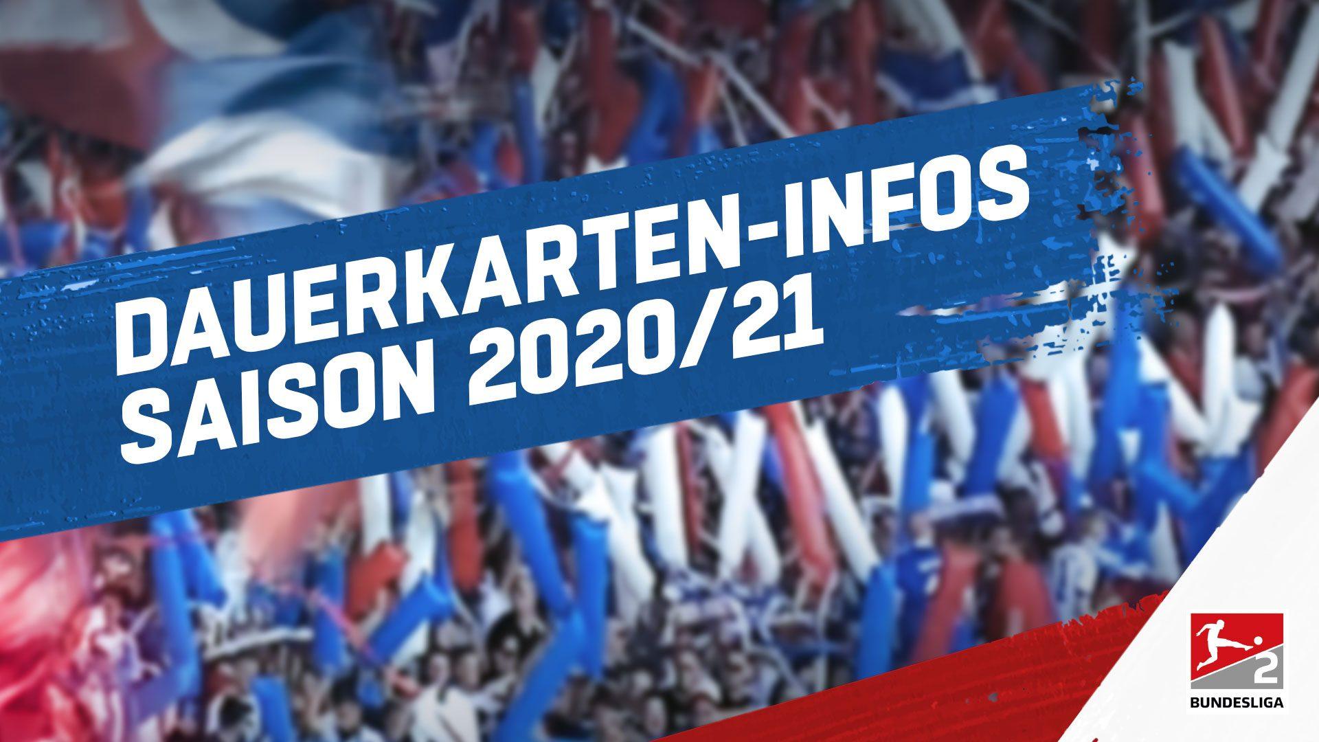 Dauerkarten Infos Saison 2020/21