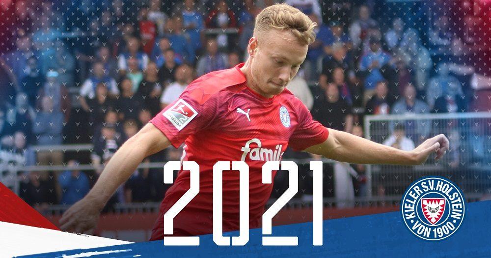 Jannik Dehm verlängert seinen Vertrag bis 2021