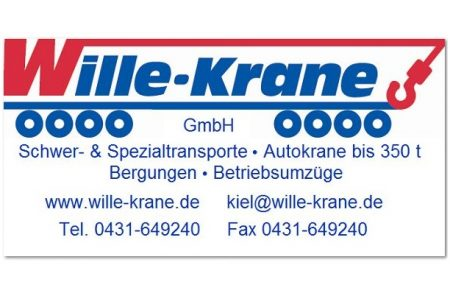 Sponsoren-Logo Wille-Krane GmbH